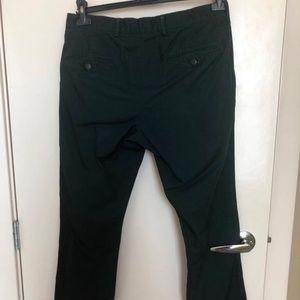 Club Monaco dark green Davis Slim-Fit Pants